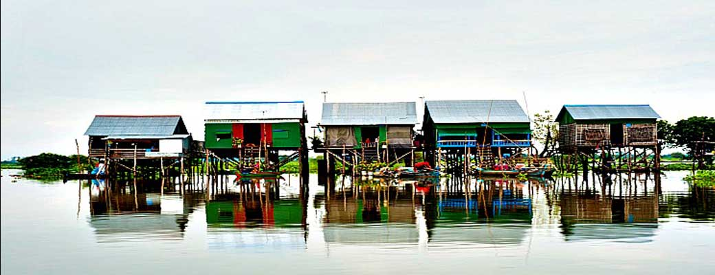 US$25. Half Day Tour Floating Village Killing fieldsand Sunset
